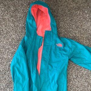 Girls Northface Rain Jacket